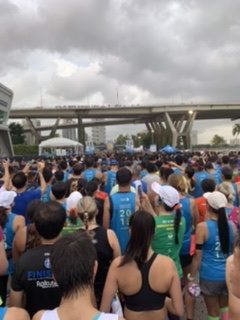 Singapore marathon start