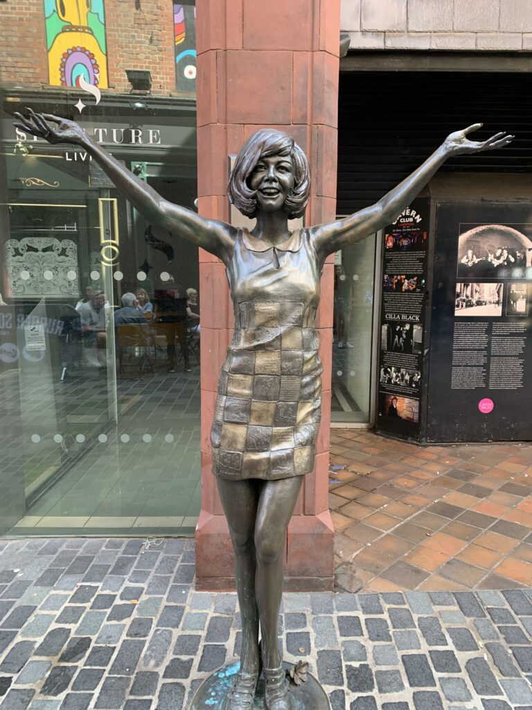 Cilla black Liverpool