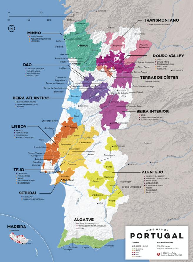 best wine regions in Portugal